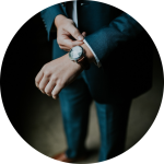 Businessman with watch - Parente Borean LLP Barristers and Solicitors in Vaughan, Ontario