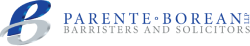 Parente Borean LLP Barristers and Solicitors Logo